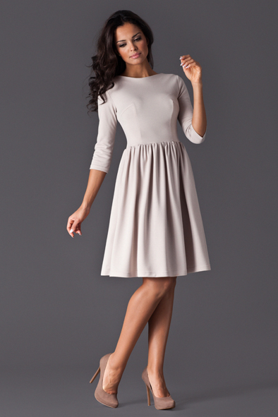Фото платья с рукавом три четверти